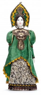 The Mistress of the Copper Mountain hand made Porcelain Doll - 11 Inches (by Le Russe)
