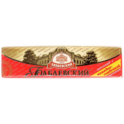 Babaevsky Milk Chocolate Bar (50 g)