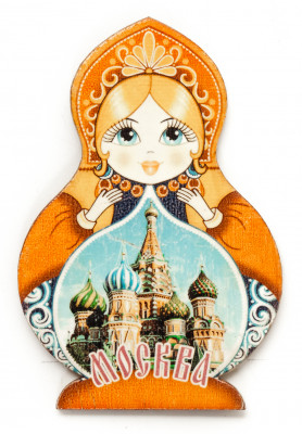 Matryoshka Saint Basil's Cathedral
