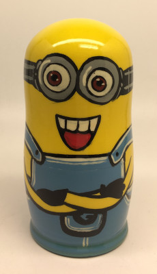 Minions Nesting Doll 5pcs Small