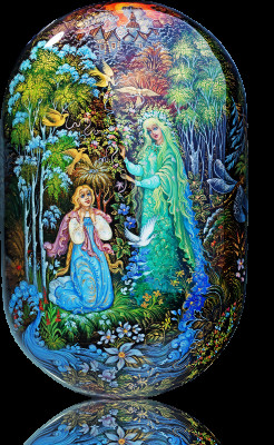 Forest Fairy Hand Painted Jewellery Box