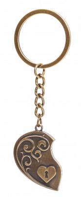 Moscow Hearts Metal Key Chain (by AKM Gifts)