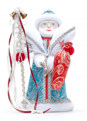 210 mm Santa Claus Porcelain Doll (by Le Russe)