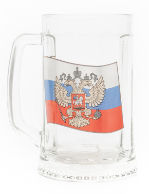 Russia Сoat of Arms Beer Mug