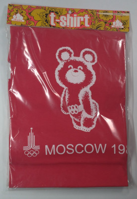 Olympic Bear Moscow 1980 T-Shirt