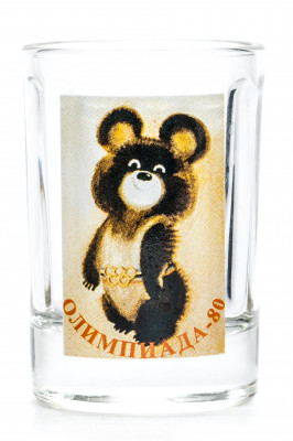 Olympic Bear Shot Glass