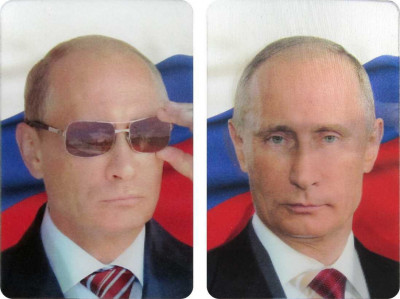55x85 Vladimir Putin fridge magnet (by AKM Gifts)