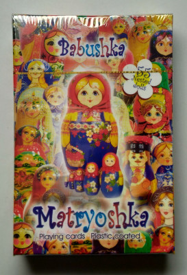 Matryoshka Playing Cards