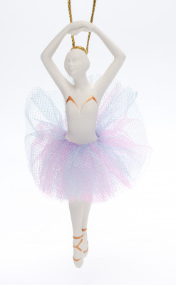 120 mm Ballerina Porcelain Doll (by Le Russe)