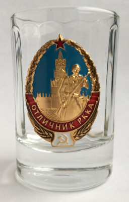 Great Soviet Soldier Shot Glass