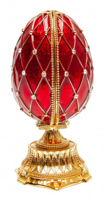 115 mm Red Easter Egg with the Basket