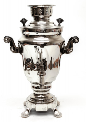 1500ml Souvenir Samovar Kettle Silver