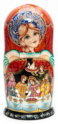 Firebird Tale Matryoshka Doll 7 pcs