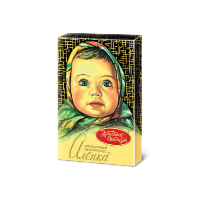 Alenka Russian Milk Chocolate (15 g)