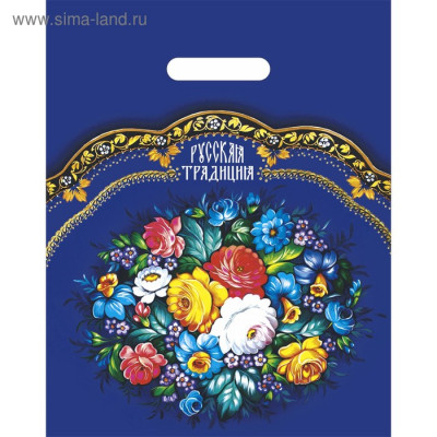 Russian Traditions 30x40cm plastic bag