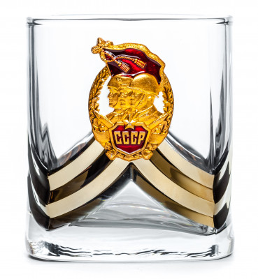 Red Soviet Army Tumbler