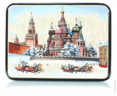 Moscow Kremlin at winter