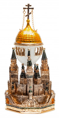 160 mm Moscow Kremlin Easter Egg