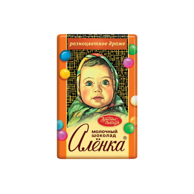 Alenka Sweet Mosaic Russian Milk Chocolate (15 g)