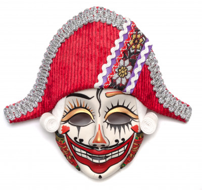 The Nutcracker Porcelain Mask