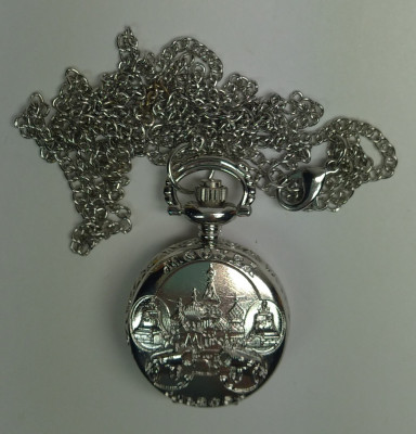 Moscow Silver Pocket Watch