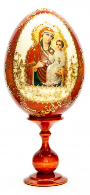 180 mm Godmother hand painted on wooden egg (by Hamlet Crafts)