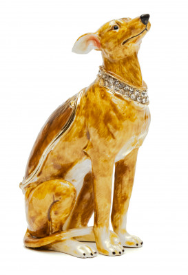85 mm Italian Greyhound Jewellery Box