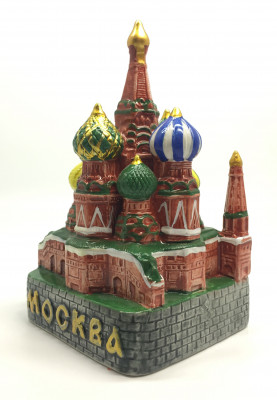 Snt Basil Cathedral Ceramic Model