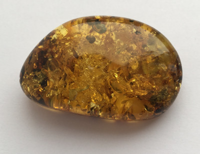 87 ct Amber Stone from Baltic Sea (by Yury Amber)
