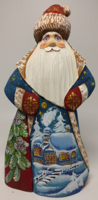 150 mm Santa Claus  (by Igor Carved Wooden Figures Studio)