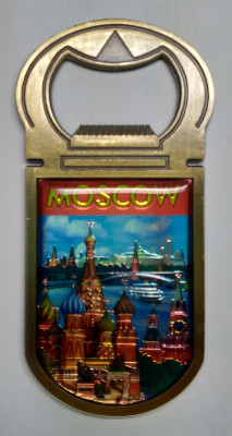 Moscow Magnet Bottle Opener