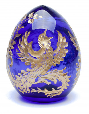 Engraved Crystal Imperial Easter Egg