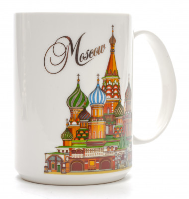 Moscow Ceramic Mug (by AKM Gifts)