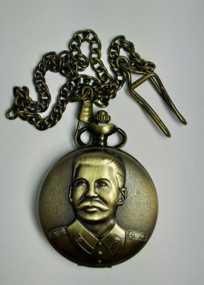 Stalin Bronze Pocket Watch