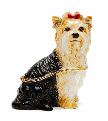 65 mm Yorkshire Terrier Jewellery Box