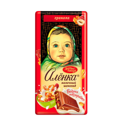 Alenka Bouncy Recharge Russian Milk Chocolate (90 g)