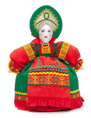 360mm Young Lady Cotton Kettle Warmer Doll (by Le Russe)
