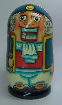 120mm The Nutcracker hand painted Matryoshka 3pcs (by Gift Shop)