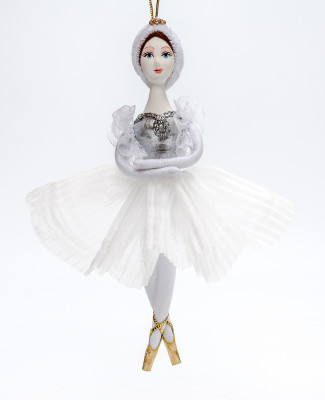 160 mm White Swan Ballerina (by Le Russe)