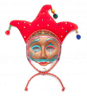 The Clown Porcelain Mask