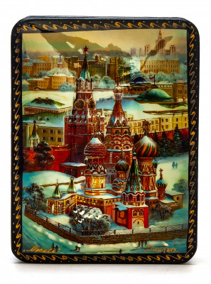 80x100mm Saint Basil Cathedral Jewellery Box