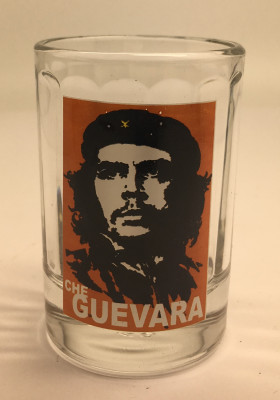 30 ml Che Guevara Faceted Shot Glass (by Crystal Glass)