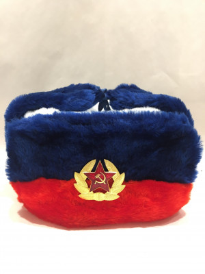 USSR Red Army Fur Ushanka Hat