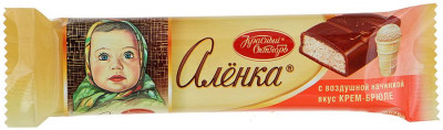 Alenka Russian Milk Chocolate (42 g)