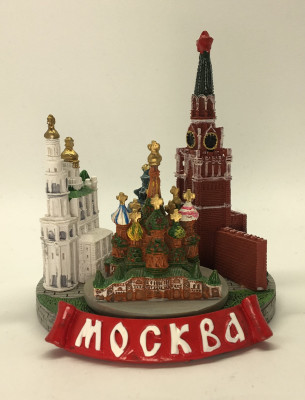 Moscow Attracttions 3D Model