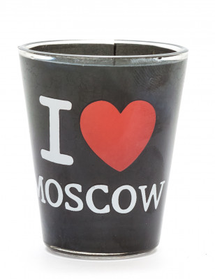 I Love Moscow Shot Glass