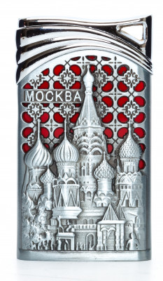 Sain Basil Cathedral Gas Metal Lighter (by Sergio Accendino)