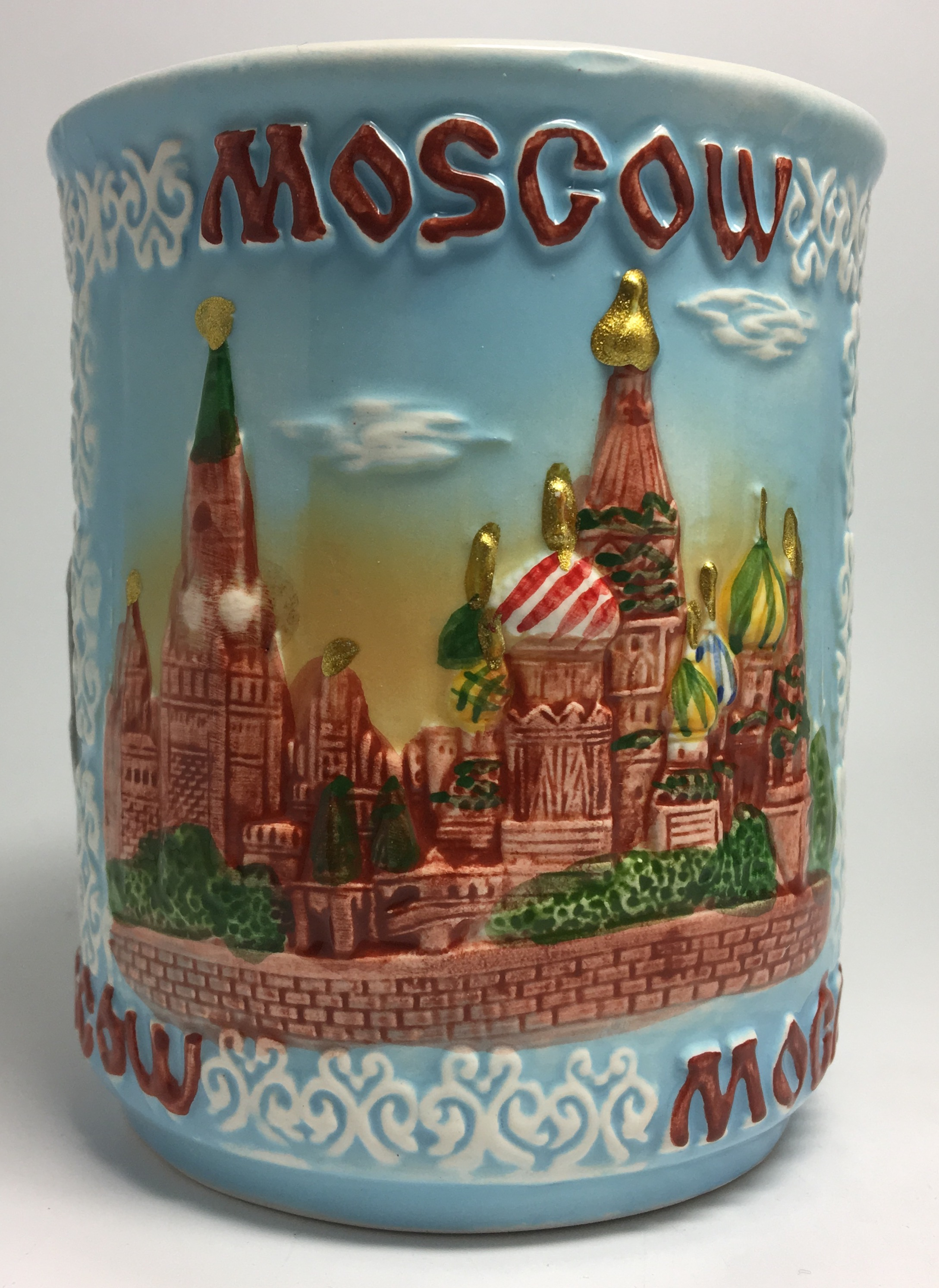 Moscow Attractions Ceramic Mug