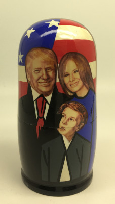Trump Family Matryoshka Doll 5pcs Small