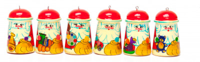 Russian Santa Christmas Ornaments